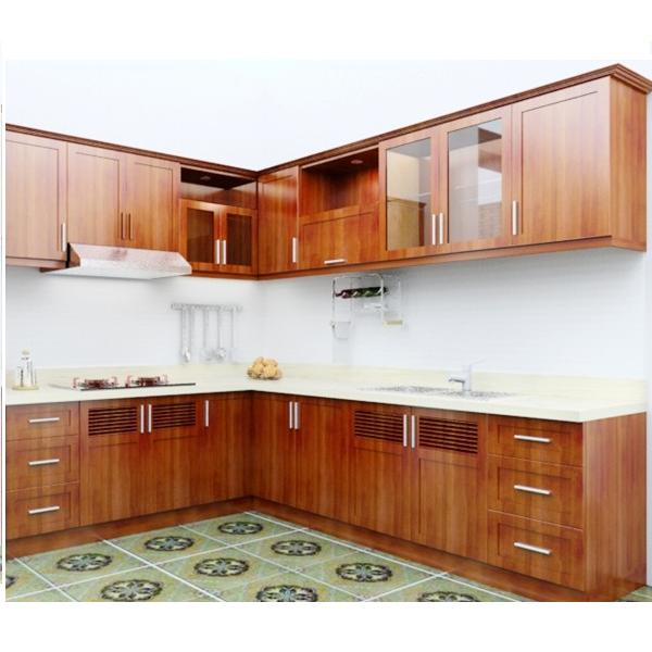 Tủ bếp gỗ Dổi 03