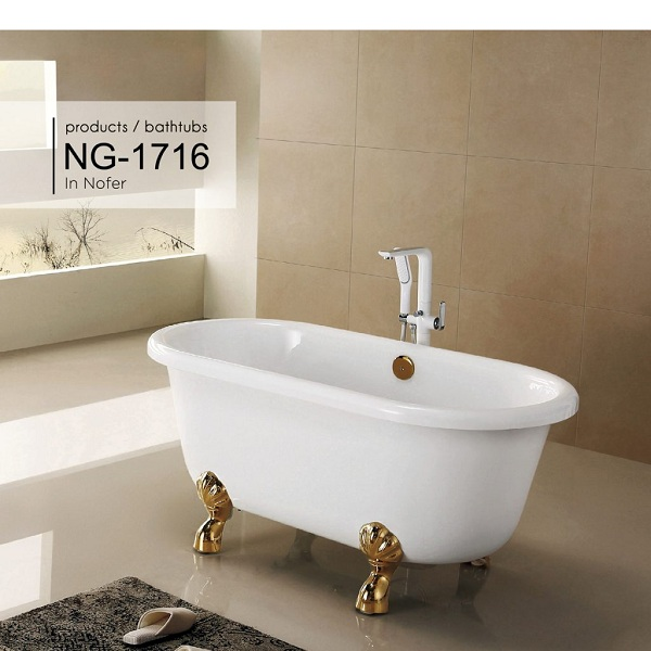 Bồn tắm Nofer NG-1716P