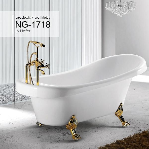 Bồn tắm Nofer NG-1718
