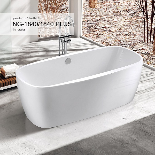 Bồn tắm Nofer NG-1840 Plus