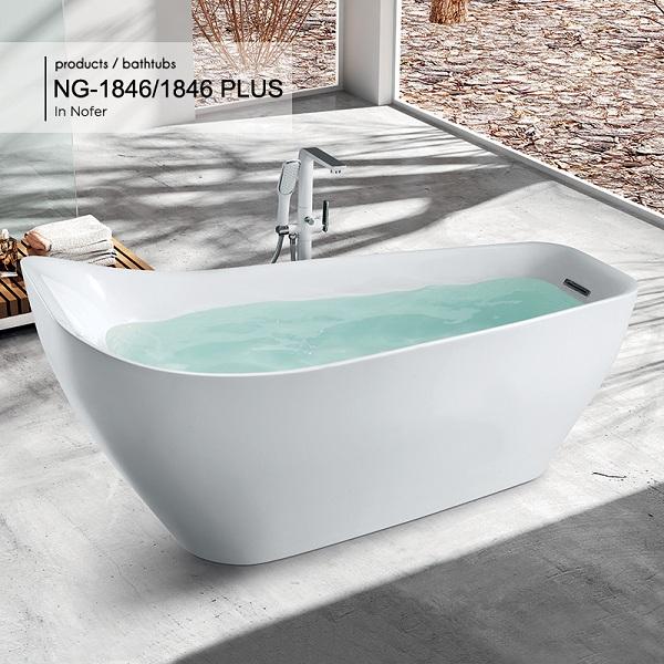 Bồn tắm Nofer NG-1846 Plus