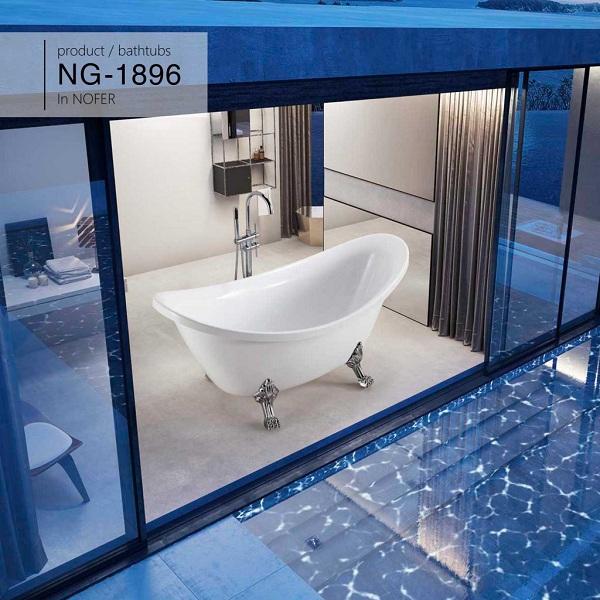 Bồn tắm Nofer NG-1896