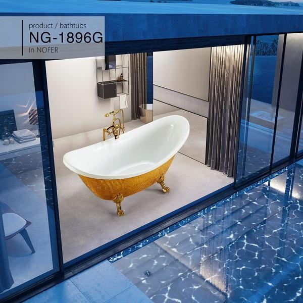 Bồn tắm Nofer NG-1896G