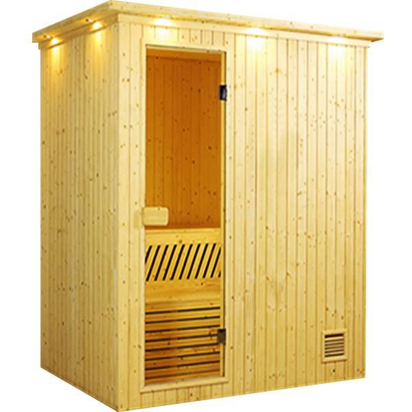Thiết kế phòng xông hơi gỗ thông Việt nam 1000x1000x2000mm