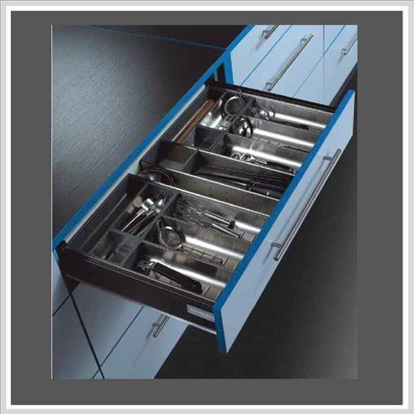Khay chia muỗng nĩa dao inox 304 Higold 812023
