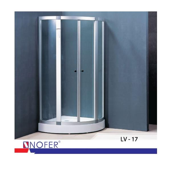 Bồn tắm vách kính Nofer LV-17
