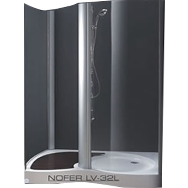 Bồn tắm vách kính Nofer LV-32L