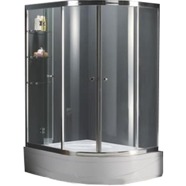 Bồn tắm đứng vách kính Nofer LV-93