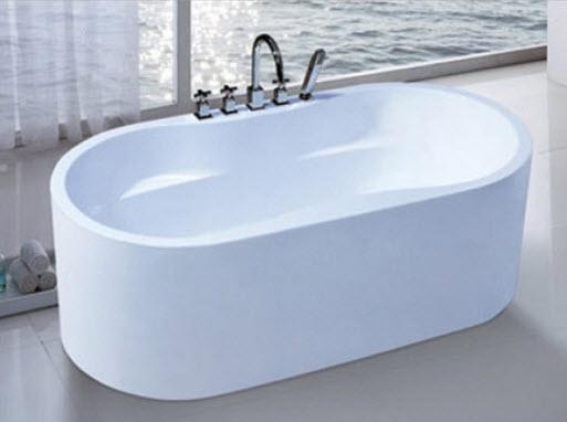 Bồn tắm nằm giúp người sử dụng thư giãn giảm mệt mỏi