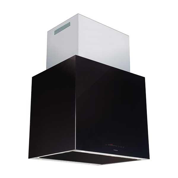 Máy hút mùi Nodor Isla-cube-glass-premium-bk