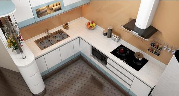 Kết quả hình ảnh cho không gian bếp từ