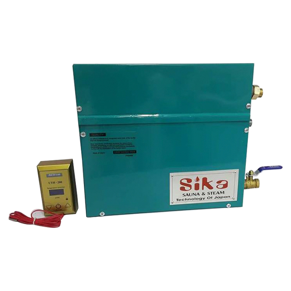 Máy xông hơi ướt Sika 12kw- điều khiển cơ