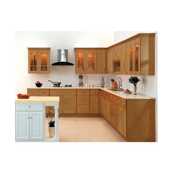 Tủ bếp gỗ xoan đào HAGL
