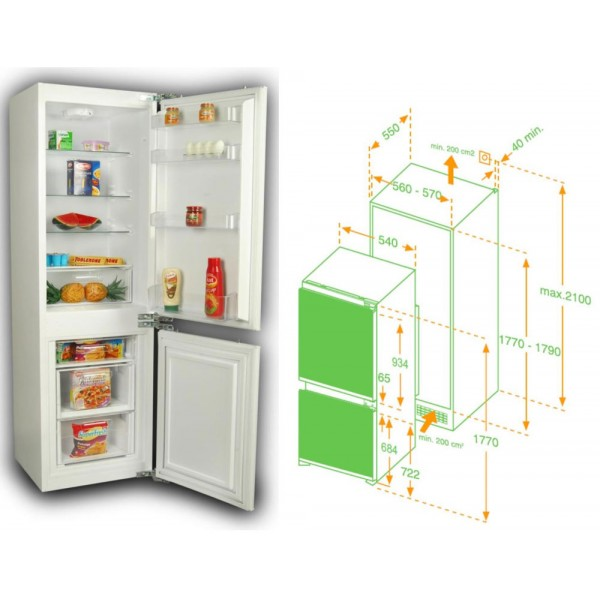 Tủ lạnh Hafele HF-BI60A